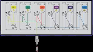 MultiLine LaserBank Example 4
