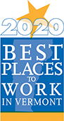 Best Places to Work in Vermont 2020 Logo