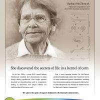 Women In Science - Barbara McClintock