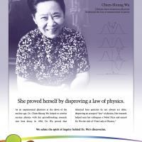 Women In Science - Chien-Shiung Wu