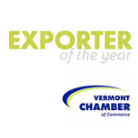 Vermont Chamber - Exporter of the Year