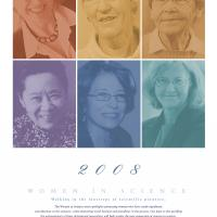 2007 - 2008 Women in Science Calendar
